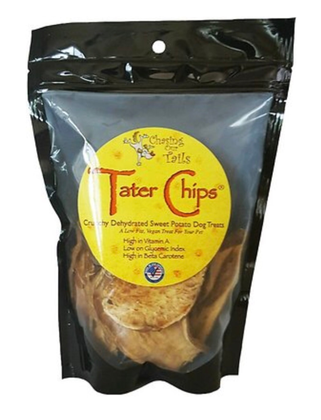Tater Chips- Crunchy Dehydrated Sweet Potato All Natural
